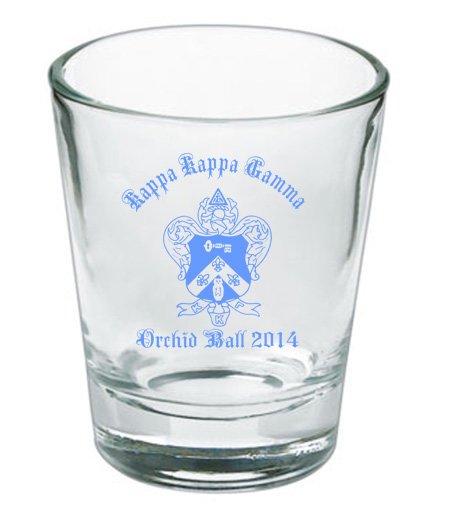 Custom Printed Short Glass Design #17