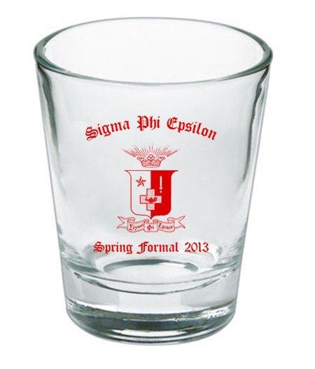 Custom Printed Shot Glass Design #11
