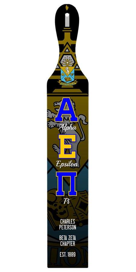 Alpha Epsilon Pi Custom Full Color Paddle