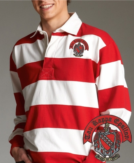 a401b929d Classic Greek Rugby Shirt - GreekGear.com