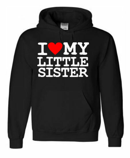 I Love My Little Sweatshirt