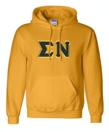Sigma Nu Lettered Sweatshirts