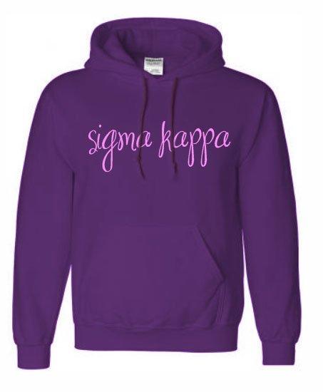Sorority Script Sweatshirt