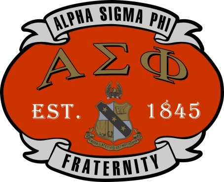 Alpha Sigma Phi Banner Crest - Shield Decal