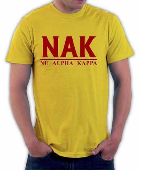 Nu Alpha Kappa Bar Shirt
