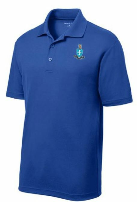 World Famous Discount Greek Crest Polo