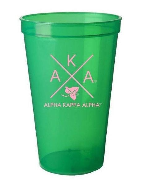 Alpha Kappa Alpha Infinity Giant Plastic Cup