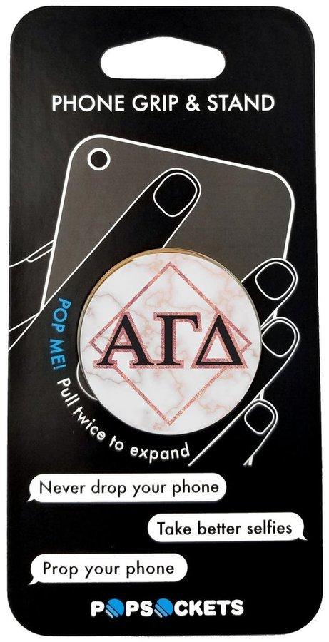 Alpha Gamma Delta Diamond Pop Socket
