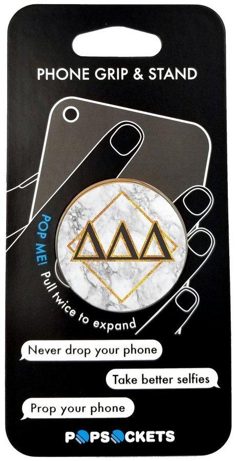 Delta Delta Delta Diamond Pop Socket