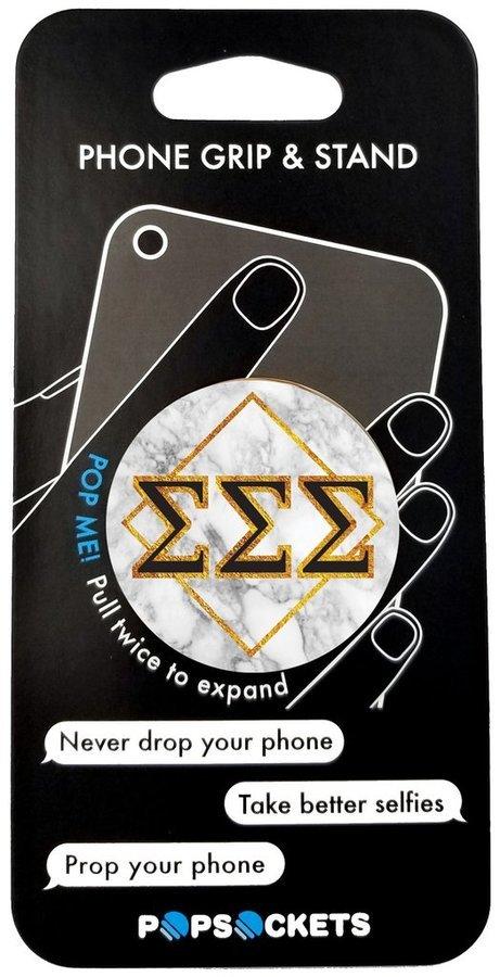Sigma Sigma Sigma Diamond Pop Socket