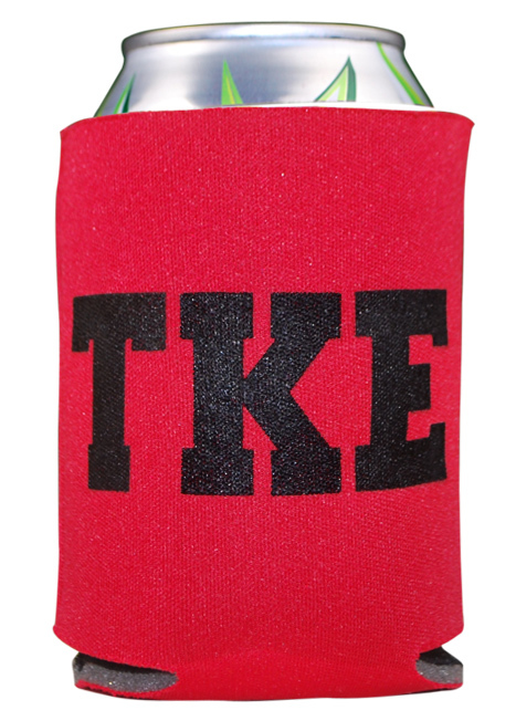 Greek Can Cooler - CLOSEOUT