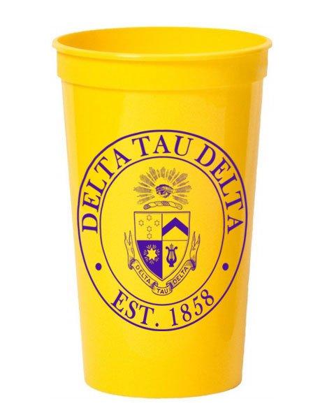 Delta Tau Delta Big Plastic Stadium Cup