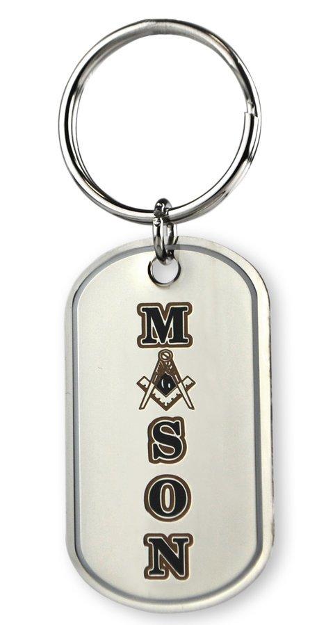 Mason / Freemason Reversible Key Chains