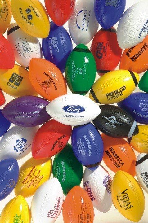Custom Printed Mini Footballs