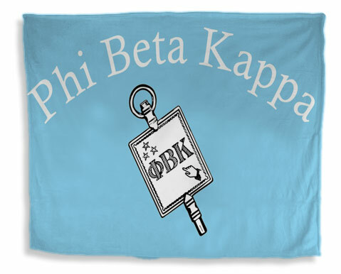 Phi Beta Kappa Flag Giant Velveteen Blanket