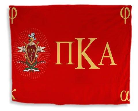 Pi Kappa Alpha Flag Giant Velveteen Blanket