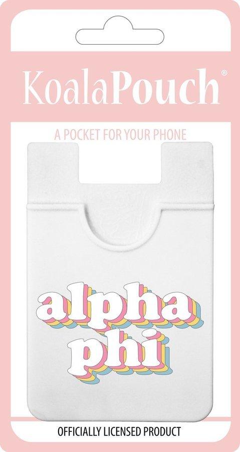 Alpha Phi Retro Koala Pouch