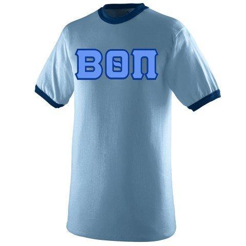 DISCOUNT- Beta Theta Pi Lettered Ringer Shirt