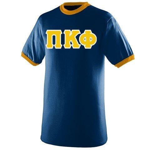 DISCOUNT- Pi Kappa Phi Lettered Ringer Shirt