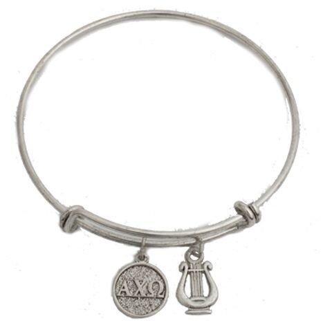 Alpha Chi Omega Expandable Bracelet