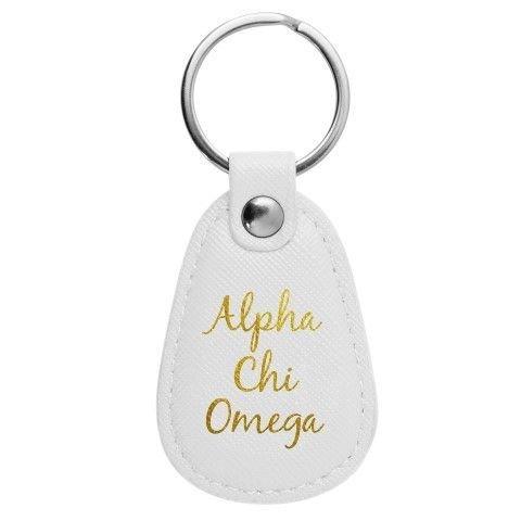 Alpha Chi Omega Retro Key Chain