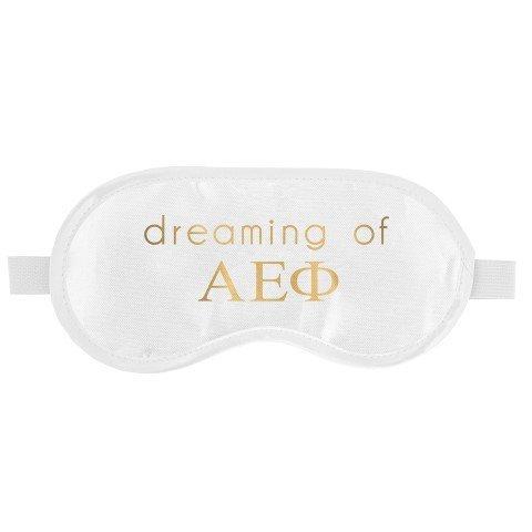 Alpha Epsilon Phi Satin Sleep Masks