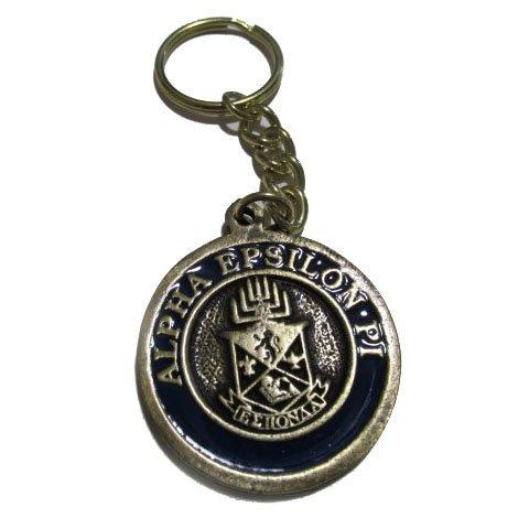 Alpha Epsilon Pi Metal Fraternity Key Chain