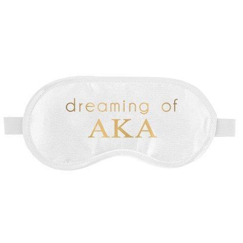 Alpha Kappa Alpha Satin Sleep Masks