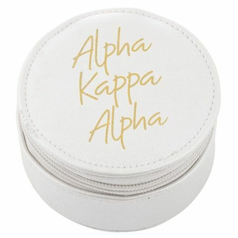 Alpha Kappa Alpha Travel Round Case