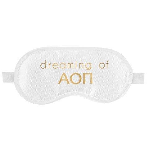Alpha Omicron Pi Satin Sleep Masks