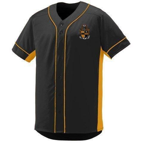 DISCOUNT-Alpha Phi Alpha Fraternity Crest - Shield Slugger Baseball Jersey