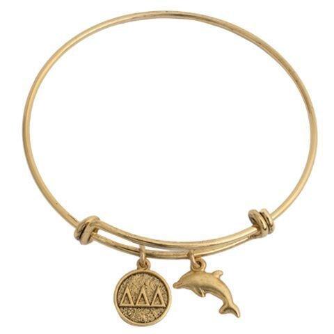 Delta Delta Delta Expandable Bracelet