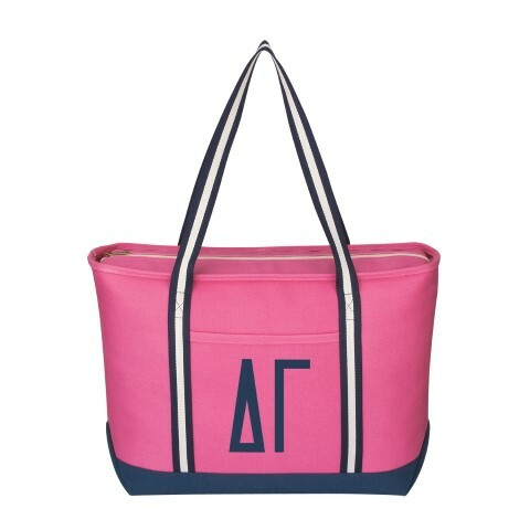 Delta Gamma Hollywood Large Canvas Tote