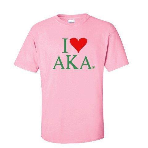 I Love Alpha Kappa Alpha T-Shirts