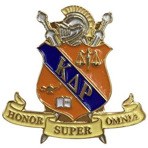 Kappa Delta Rho Color Crest - Shield Pins