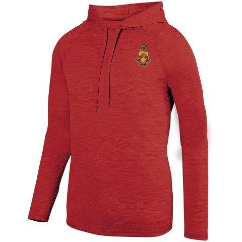 DISCOUNT-Phi Kappa Tau Fraternity Crest - Shield Tonal Hoody
