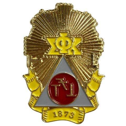 Phi Sigma Kappa Color Crest - Shield Pins