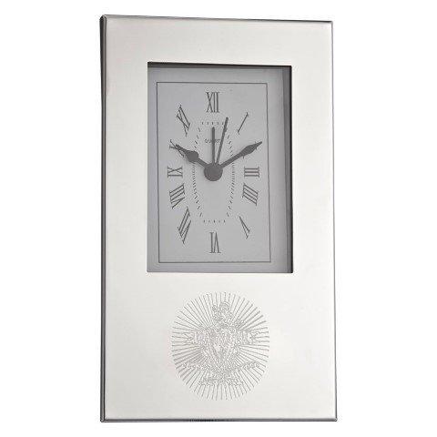 Pi Kappa Alpha Crest Desk Clock