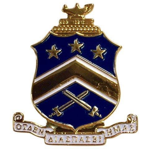 Pi Kappa Phi Color Crest - Shield Pins