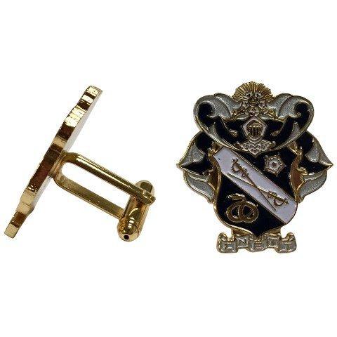 Sigma Nu Color Crest - Shield Cuff links