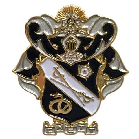 Sigma Nu Color Crest - Shield Pins