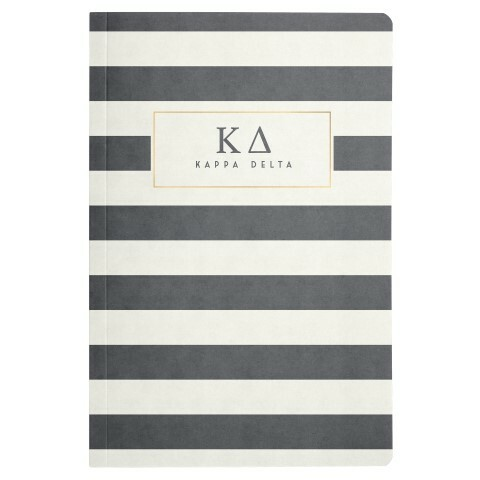 Sorority Striped Notebooks