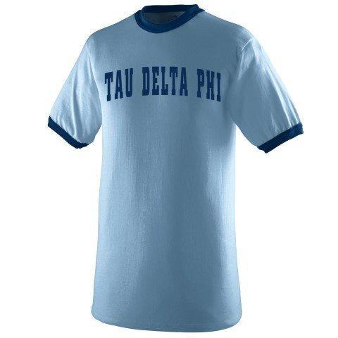Tau Delta Phi Ringer T-shirt