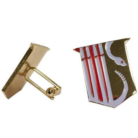 Theta Chi Color Crest - Shield Cuff links