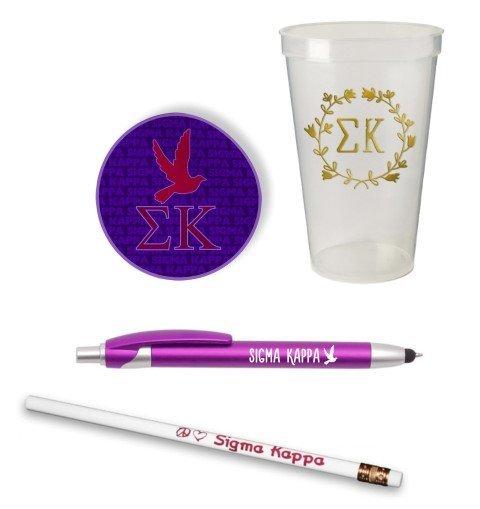Sigma Kappa Sorority Mascot Set $8.99