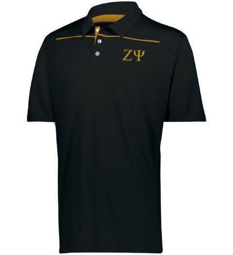 Zeta Psi Subtle Greek Letter Defer Polo