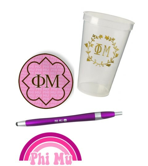 Phi Mu Sorority For Starters Collection $9.99