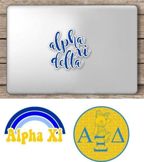 Alpha Xi Delta Sorority Sticker Collection - SAVE!
