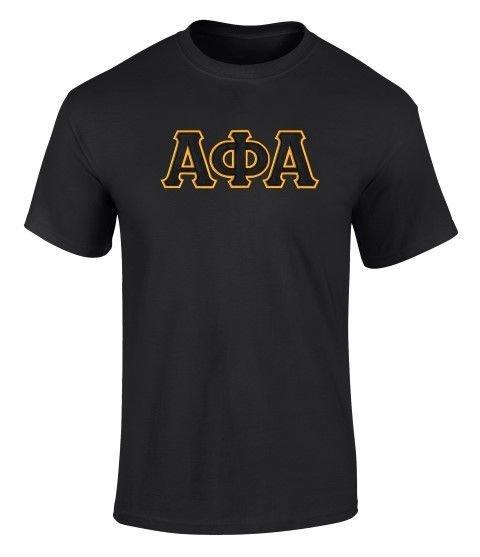 Alpha Phi Alpha 2 Day Ship Twill Tee