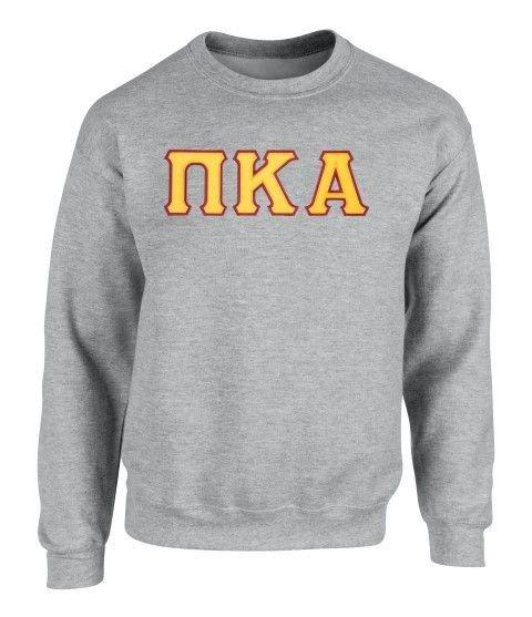 Pi Kappa Alpha - 2 Day Ship Twill Crewneck Sweatshirt